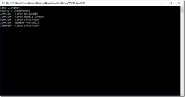 Linq-Distinct-Screenshot1