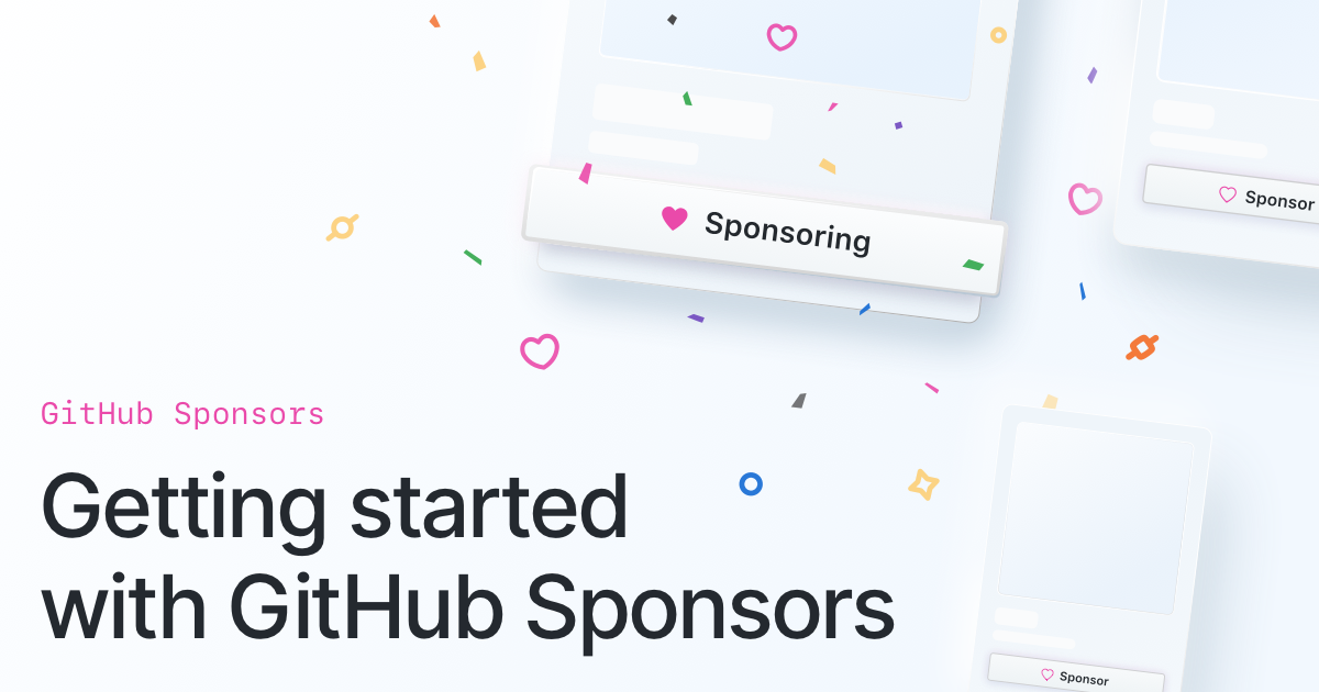 Getting started with GitHub Sponsors