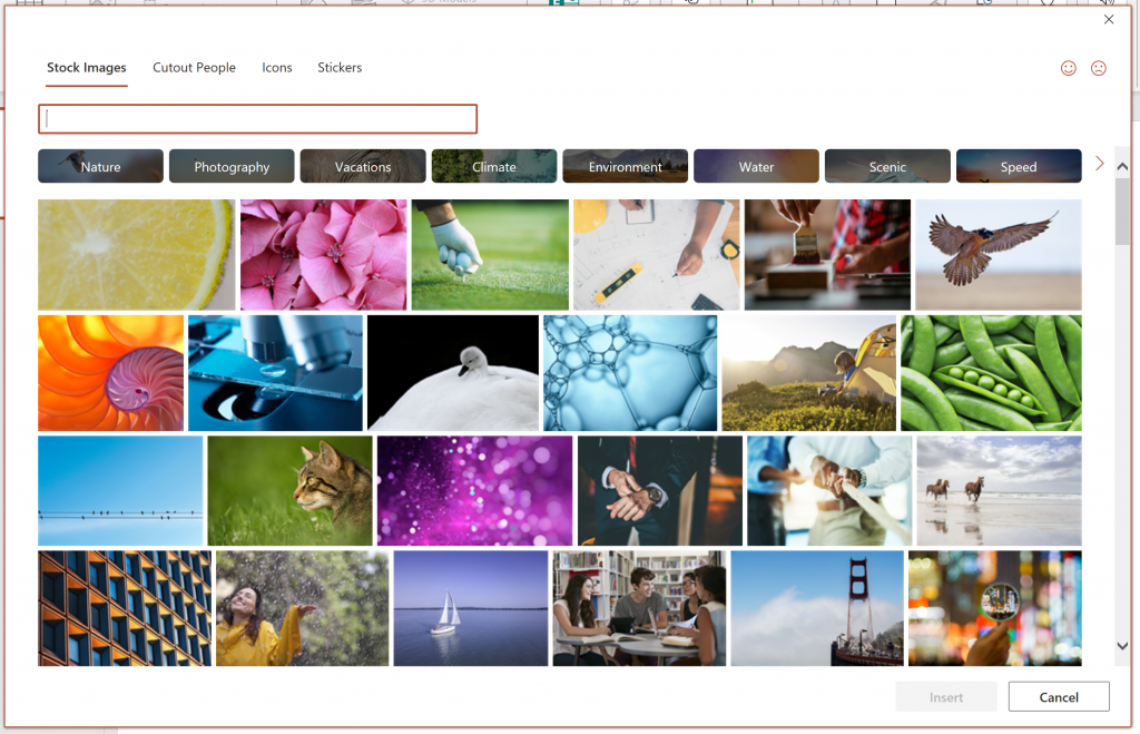 Microsoft brings 8,000 royalty-free images and icons to Office for Windows users