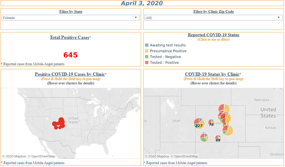 Interactive Map Covid-19