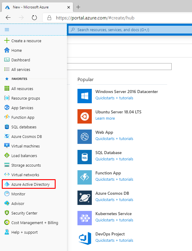 Active Directory on Azure