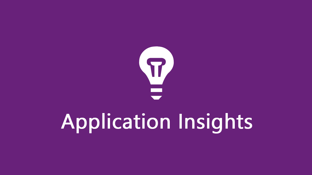 Application Insights wallpaper