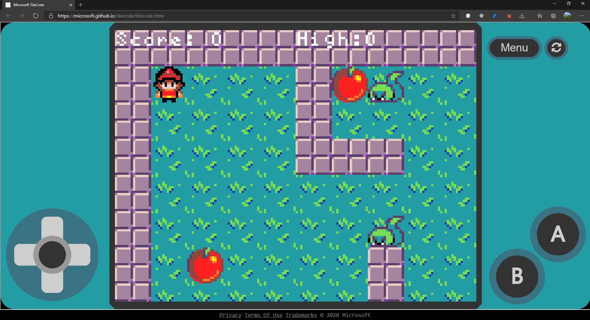 Microsoft TileCode creates arcade games