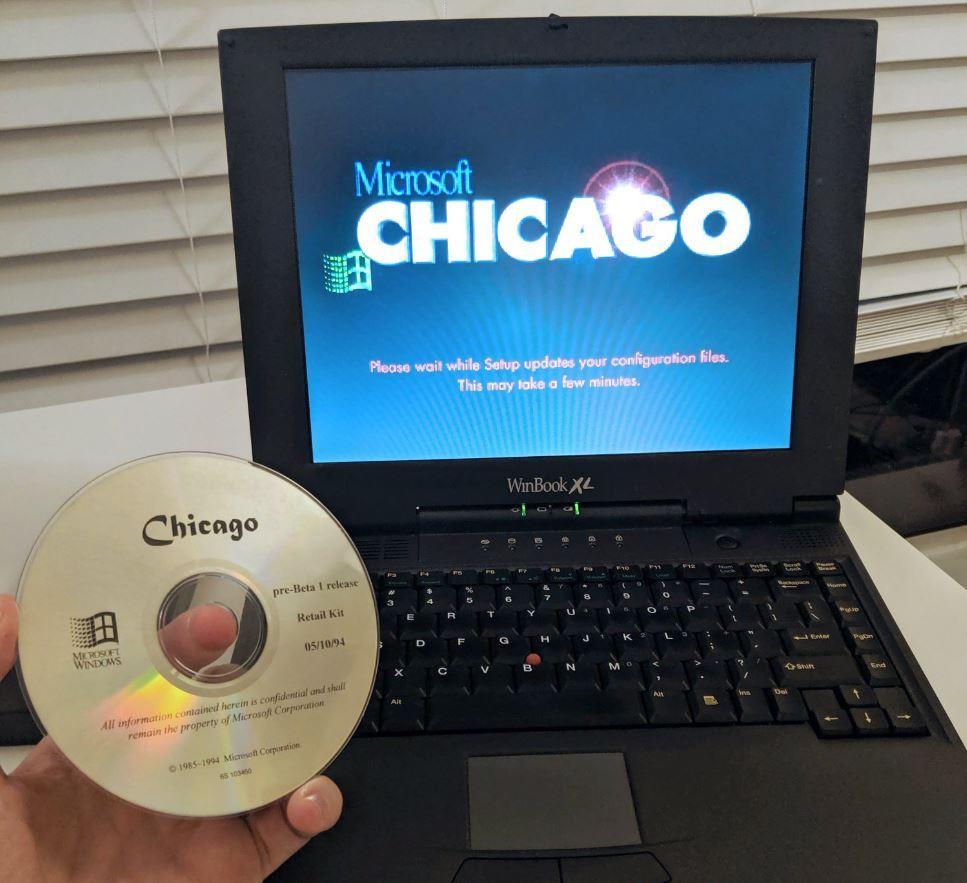 Microsoft Windows 95 Chicago