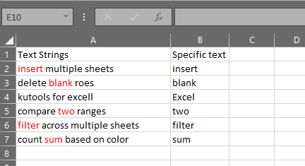 Microsoft Excel: after run macro Highlight