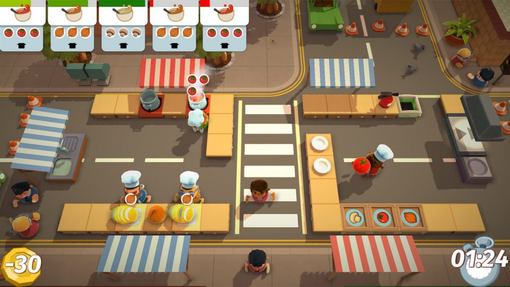 Overcooked - Games for Xbox One for couple