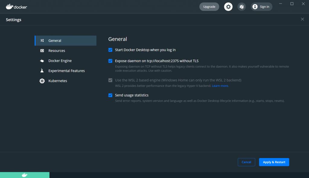 Docker Settings - Deploy ShinyApps with Azure and Docker