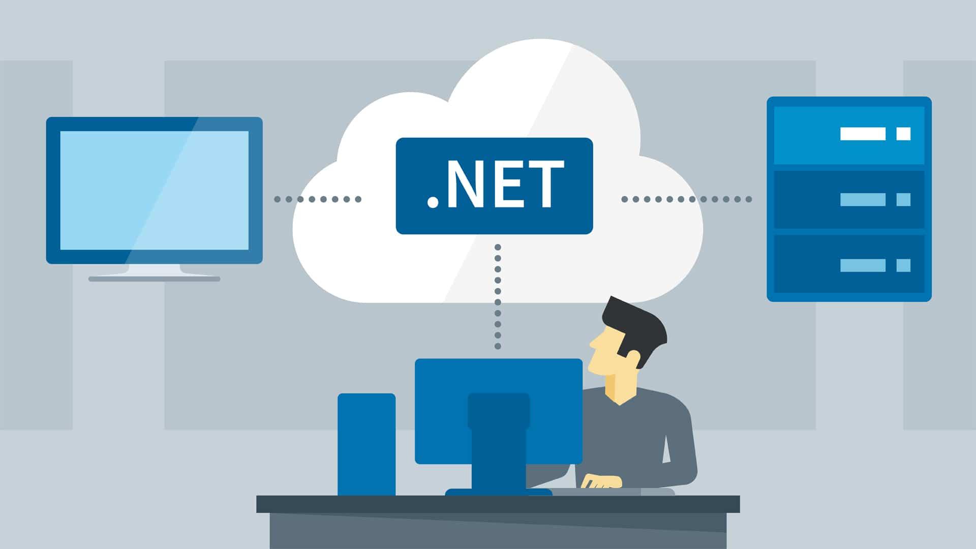 .NET Developer head