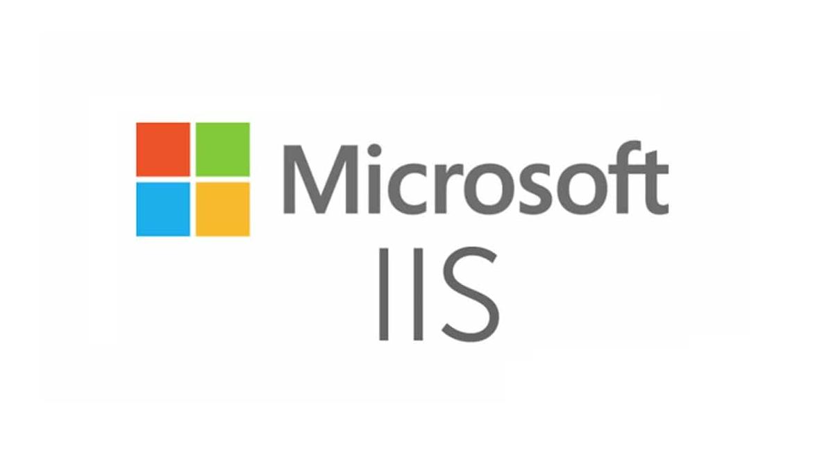 Microsoft IIS Logo Wallpaper