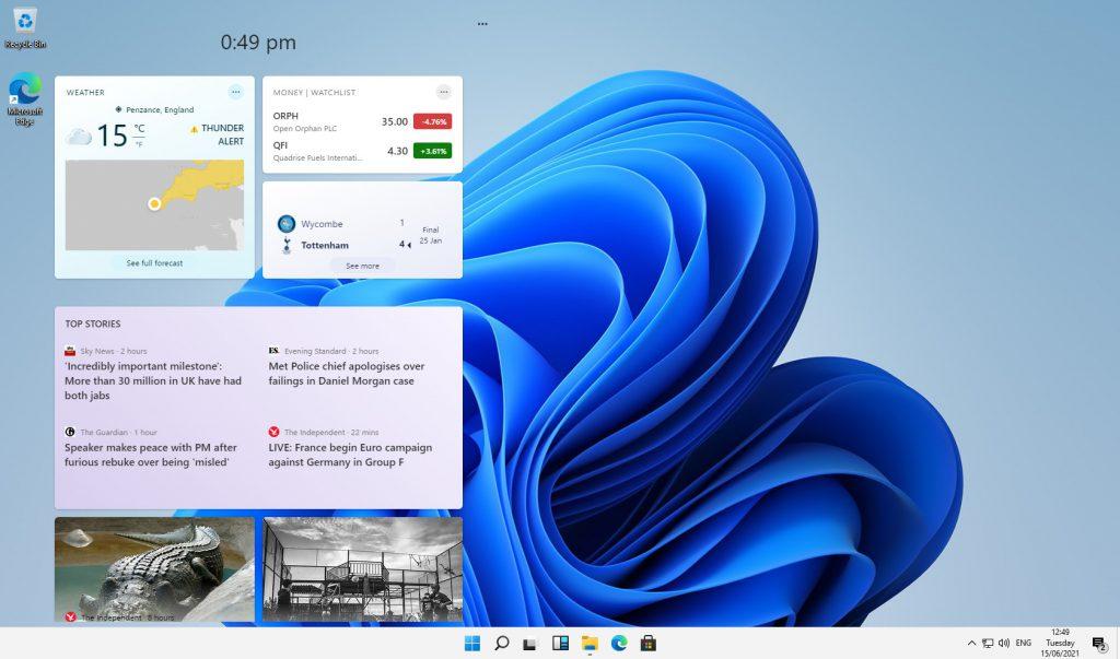 Windows 11 news and features - Windows 11 leak reveals new UI