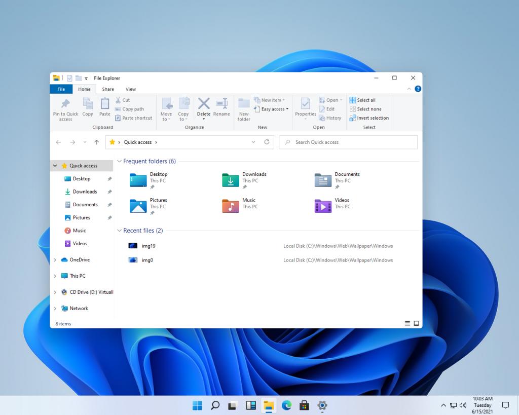 Windows11 New Icons - Windows 11 leak reveals new UI