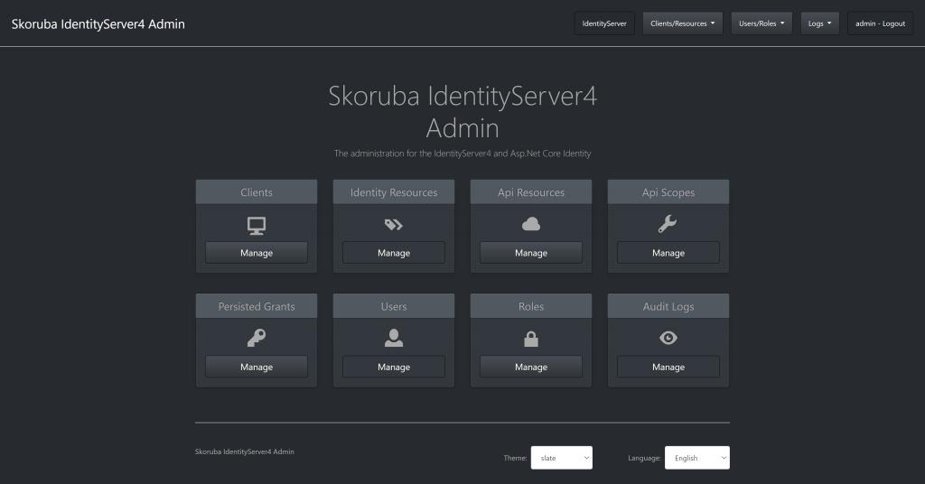 Skoruba IdentityServer4 Admin UI - Configure IdentityServer for Xamarin Forms