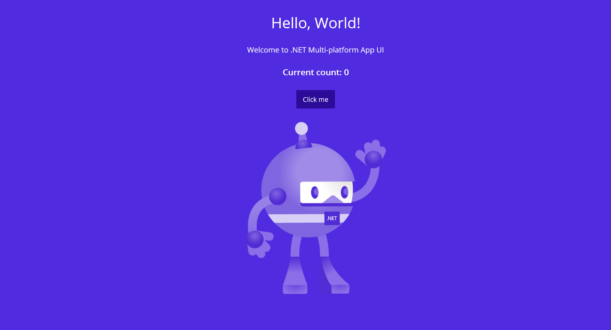 maui hello world