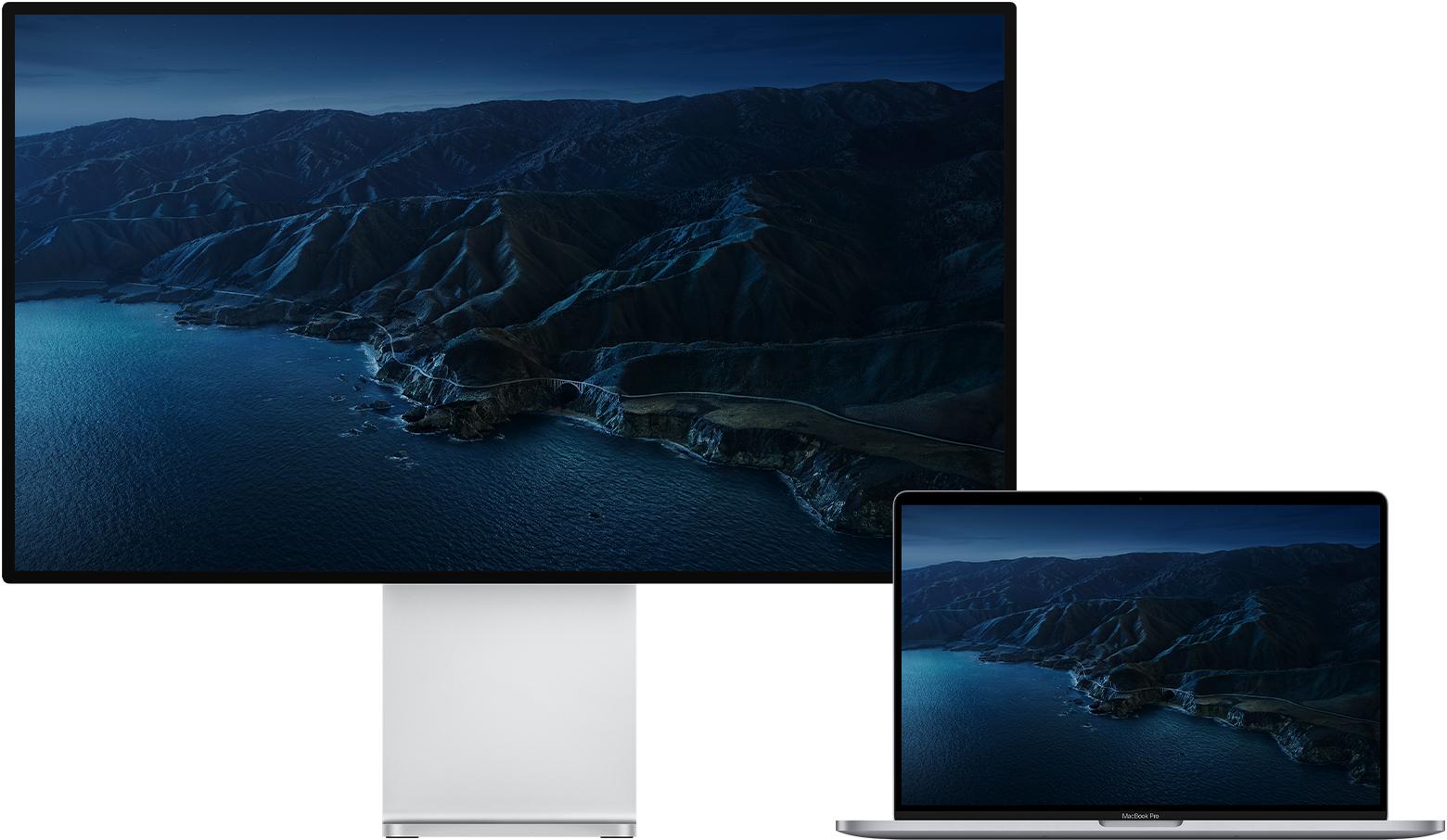 Mac external monitors hero