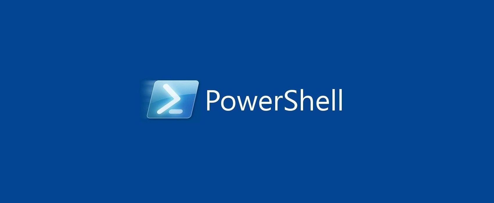 PowerShell Script Wallpaper